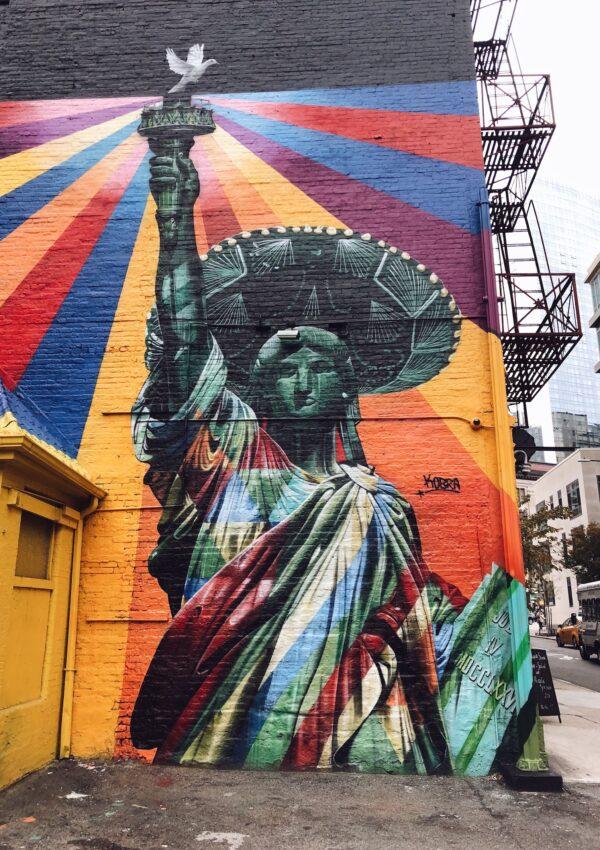 Mi graffiti favorito de Kobra en Nueva York