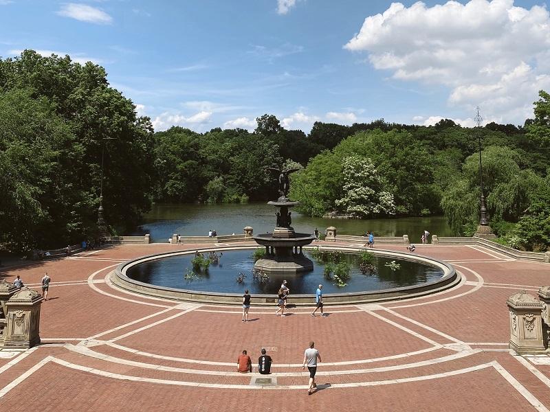 Betsheda Terrace en Central Park