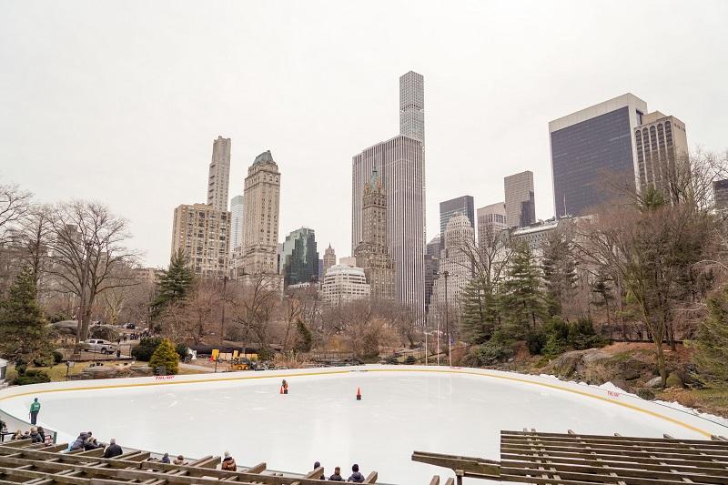 Wollman Rink en Central Park