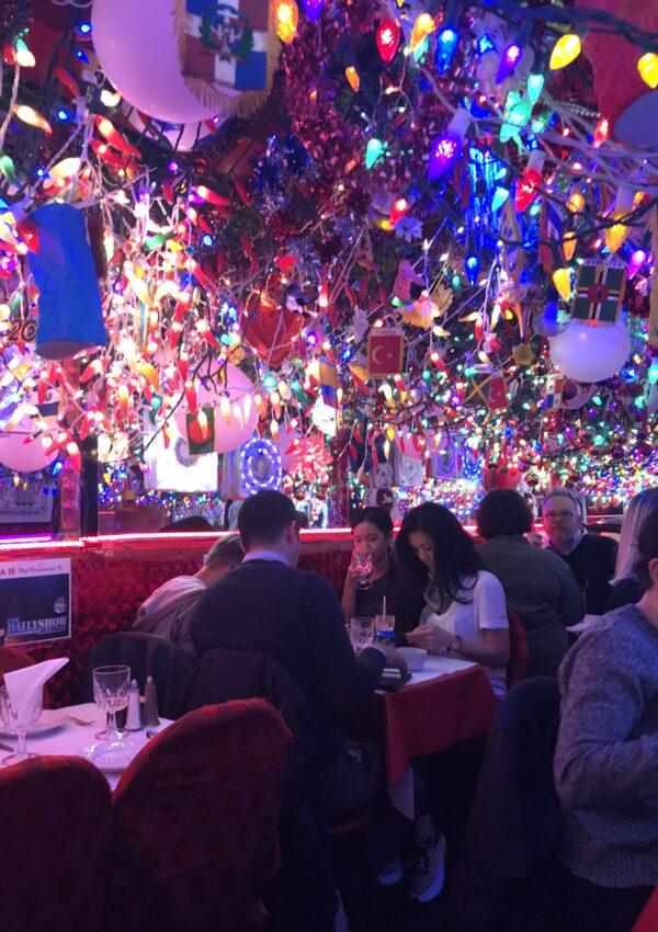 Un restaurante único en Nueva York