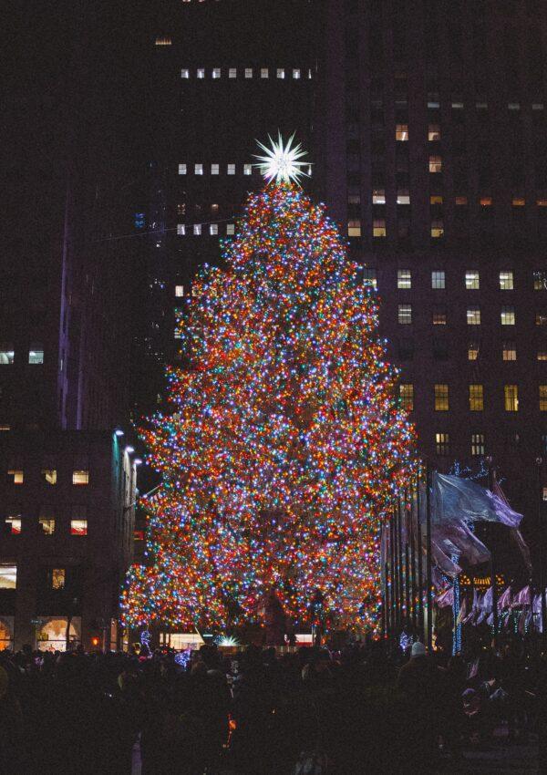 Los árboles de Navidad más lindos de Nueva York