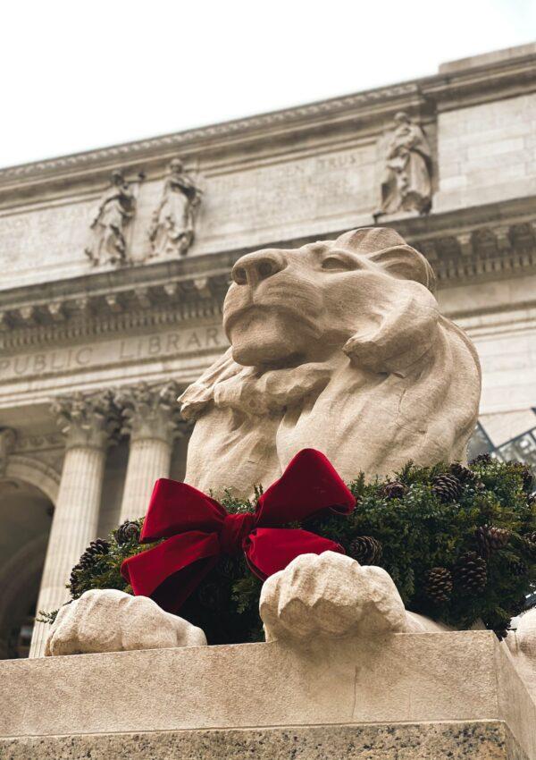 Los leones que defienden la NY Public Library
