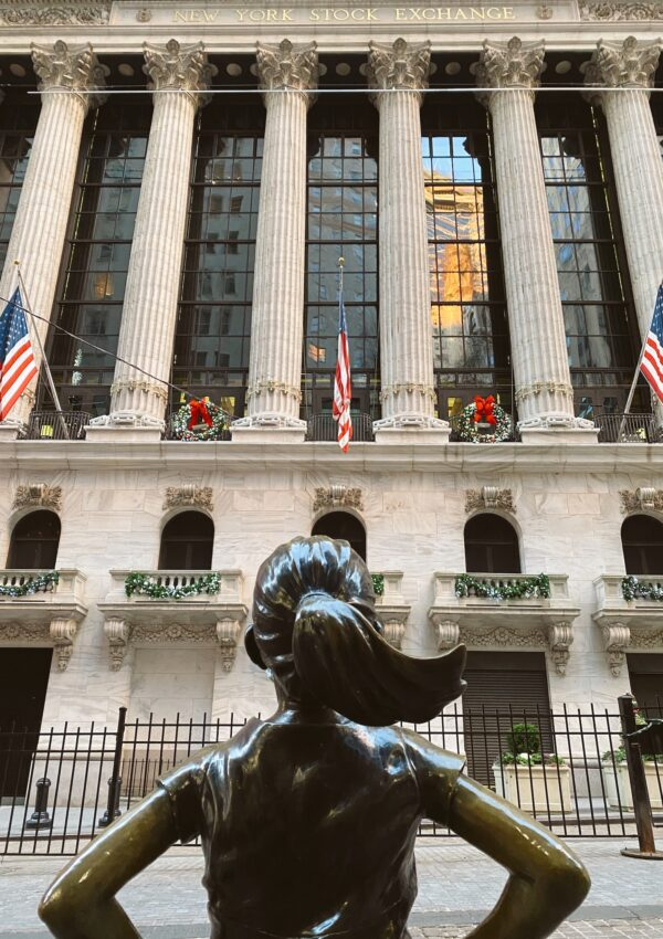 La historia de la Fearless Girl de Wall Street