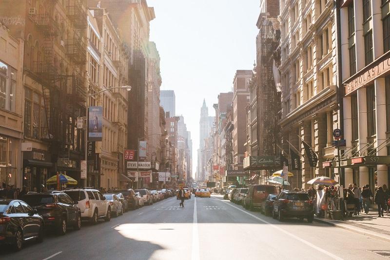 Broadway, una de las calles más lindas de Nueva York