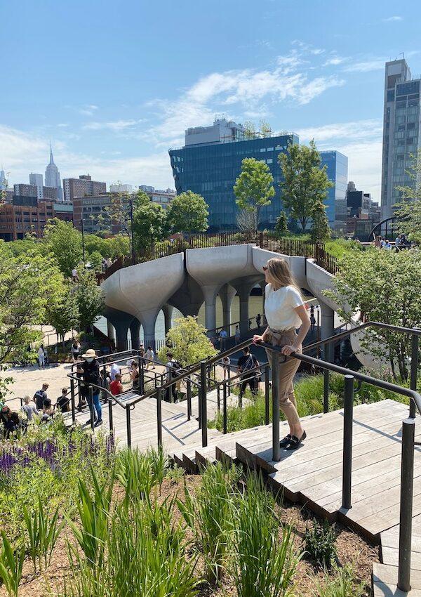 Little Island: el parque flotante de Nueva York